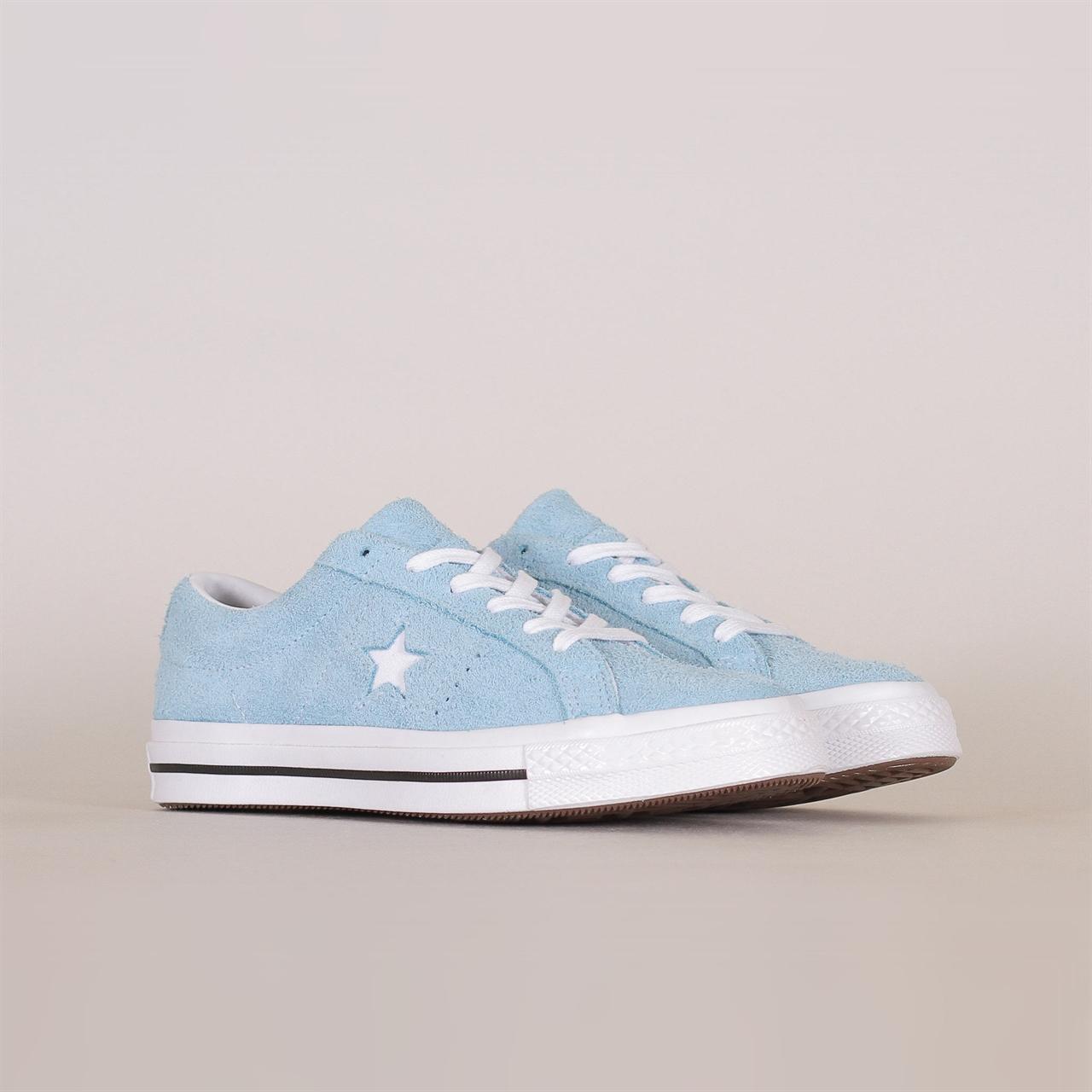 5471cf1b6641 One Star OX (161575C). 95EUR   a pair. Colorway  Shoreline Blue White
