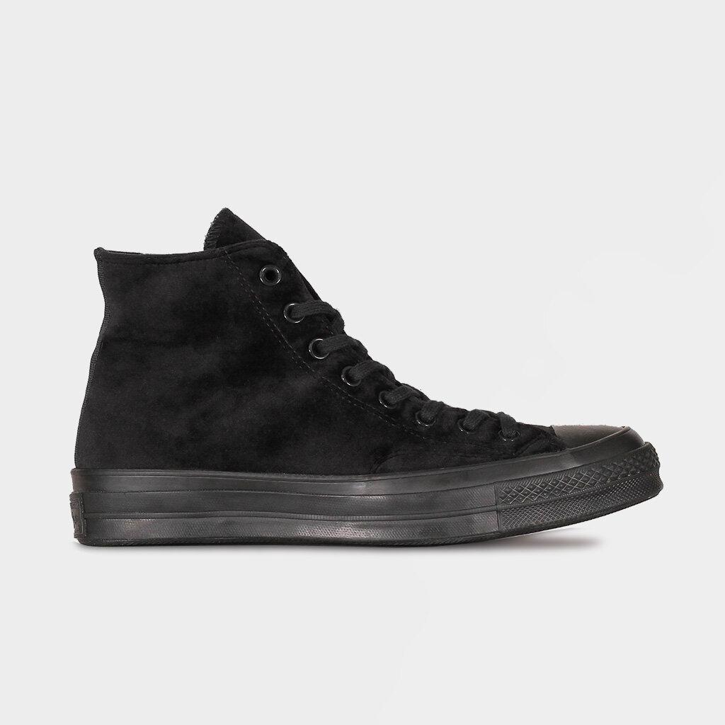 Converse Chuck 70 Velvet Hi Black Black