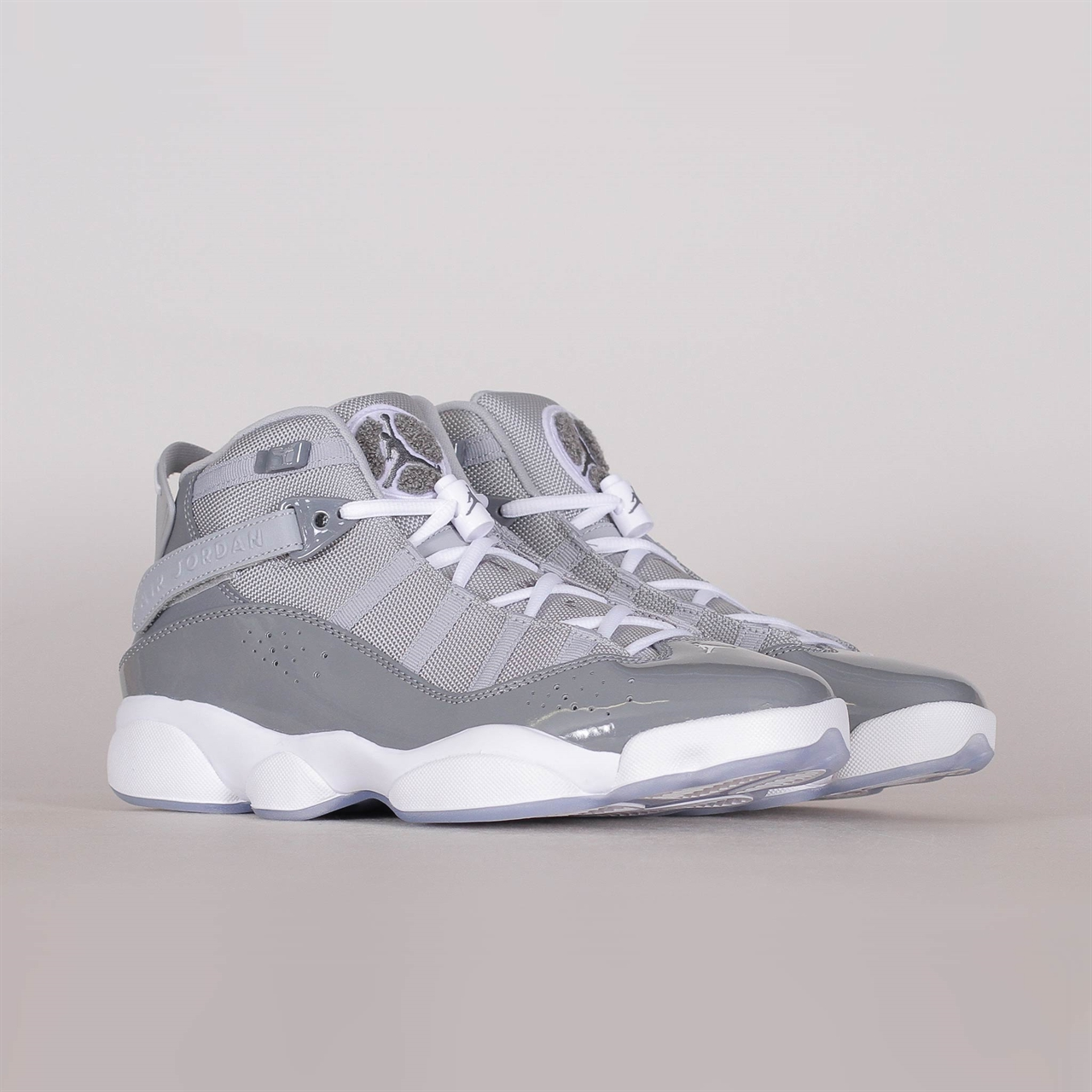 buy popular 2cbc6 7a8d0 Nike Air 6 Rings (322992-015). 169 169EUR   a pair. Colorway  Cool Grey  White-Wolf Grey