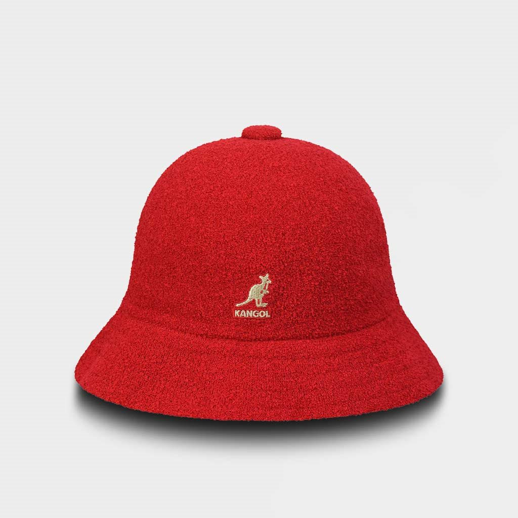 99ae7225 Kangol Bermuda Casual Hat Scarlet Red (397BCM-SCA) - Shelta