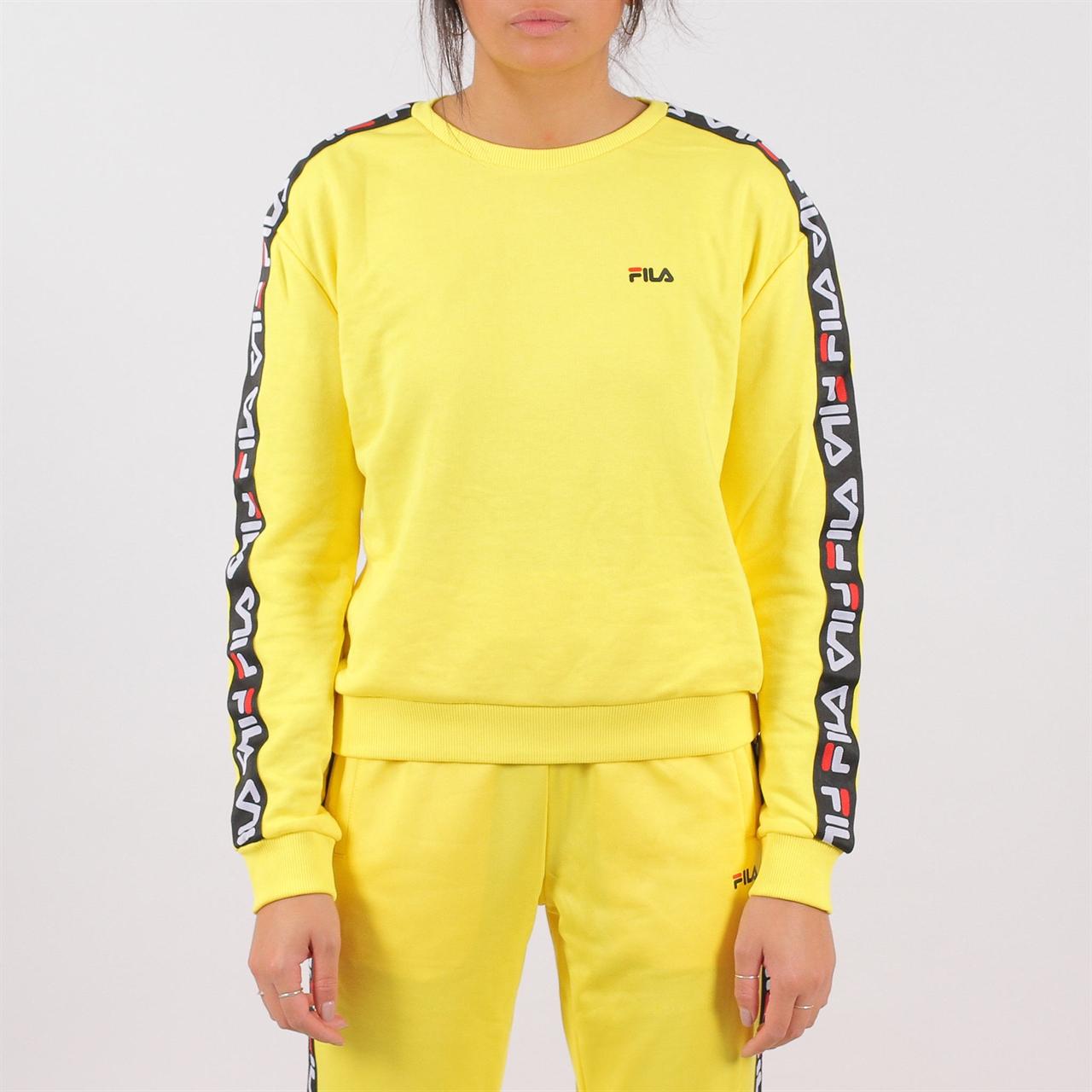 Shelta - Fila Womens Tivka Crew Sweat Yellow (682326-015) 9066566798