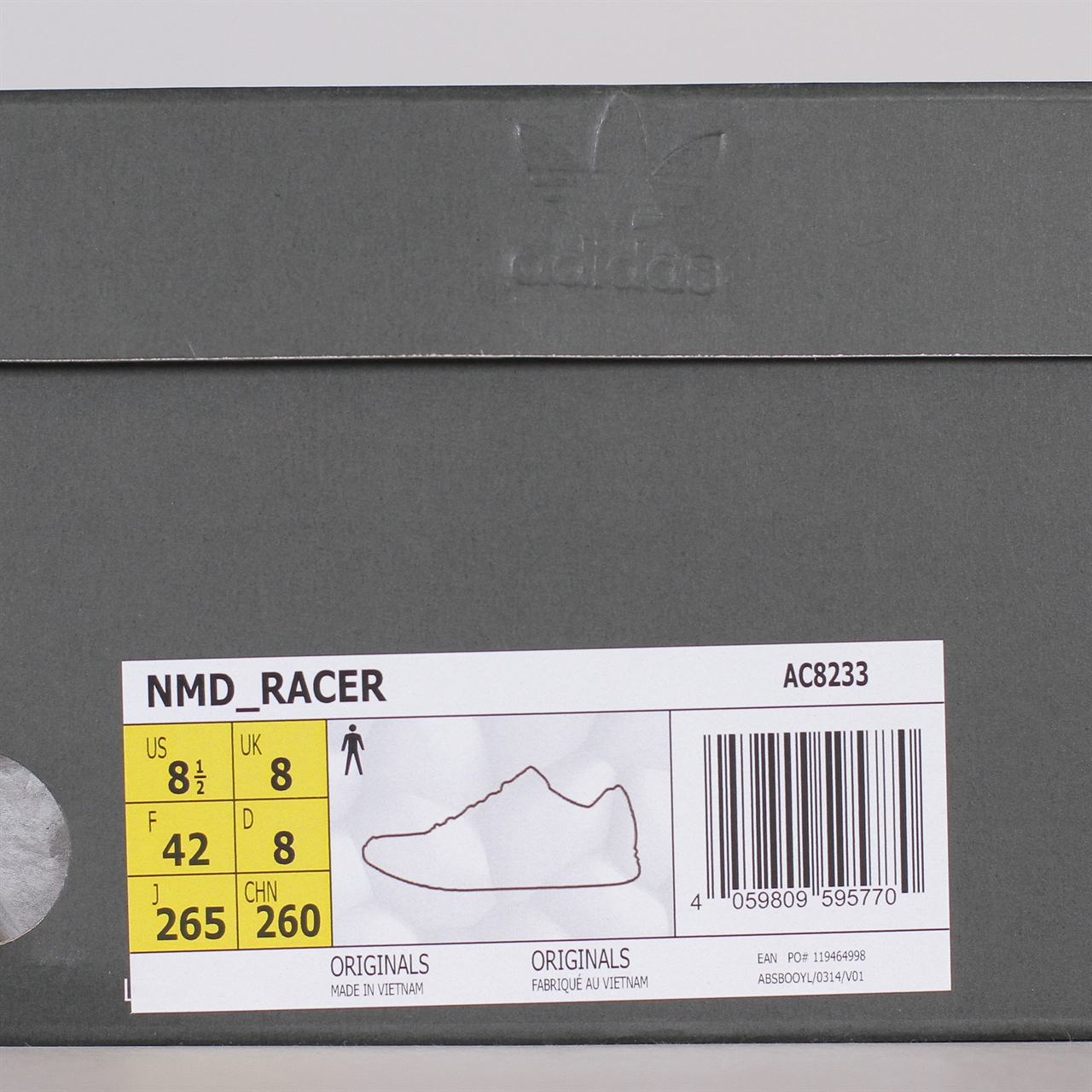 release date 41dcd d2f8f Adidas OriginalsAdidas Originals NMD Racer  Monaco   (AC8233) . 1