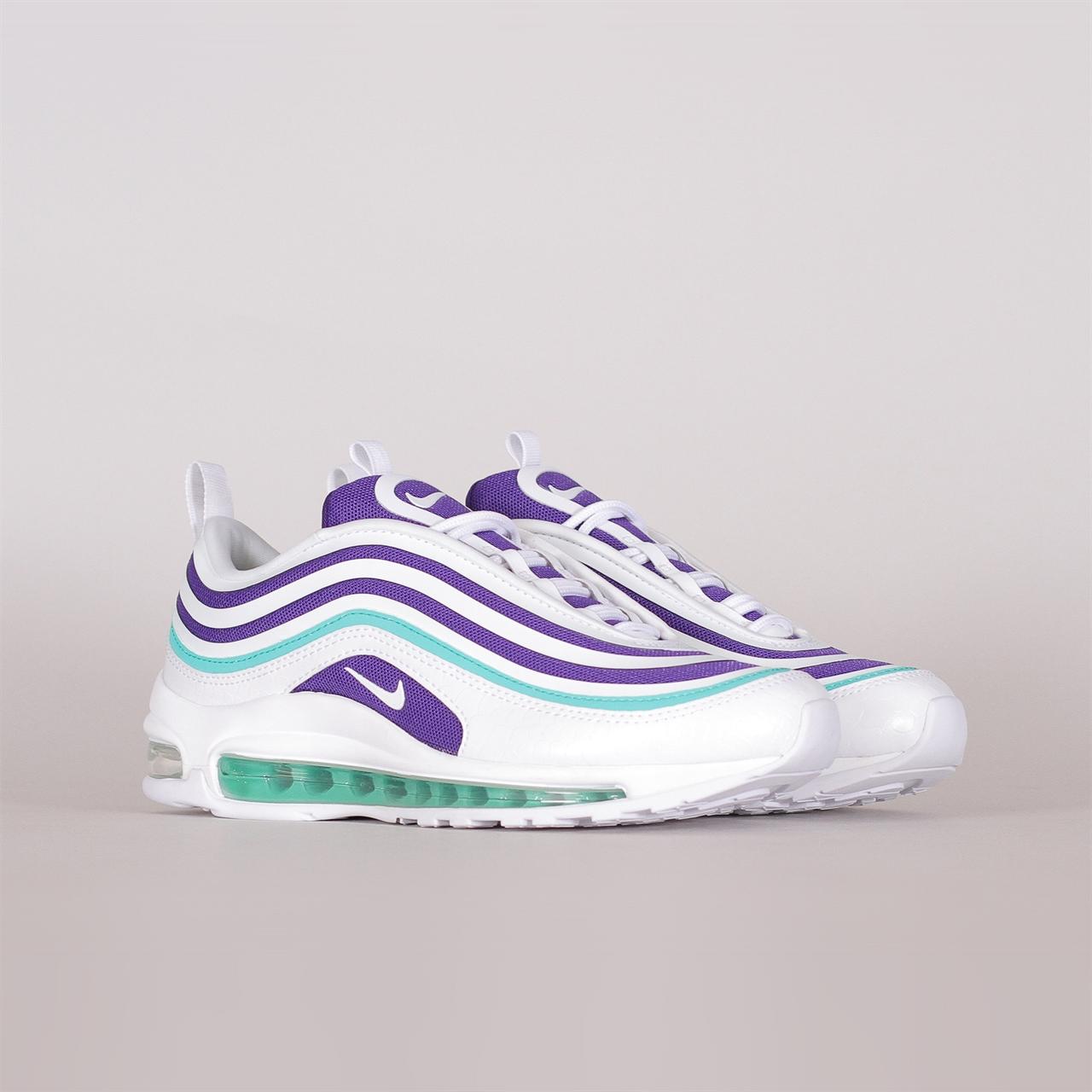 9a08051c00d Womens Air Max 97 Ultra SE (AH6806-102). 179EUR   a pair. Colorway  White  White-Court Purple-Emerald Green