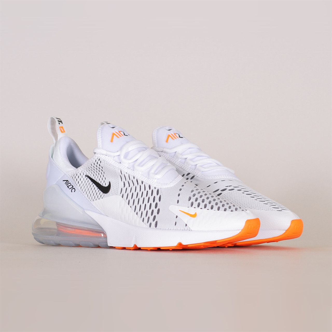 61137b3c8b0 Air Max 270 (AH8050-106). 169 169EUR   a pair. WHITE BLACK-TOTAL ORANGE