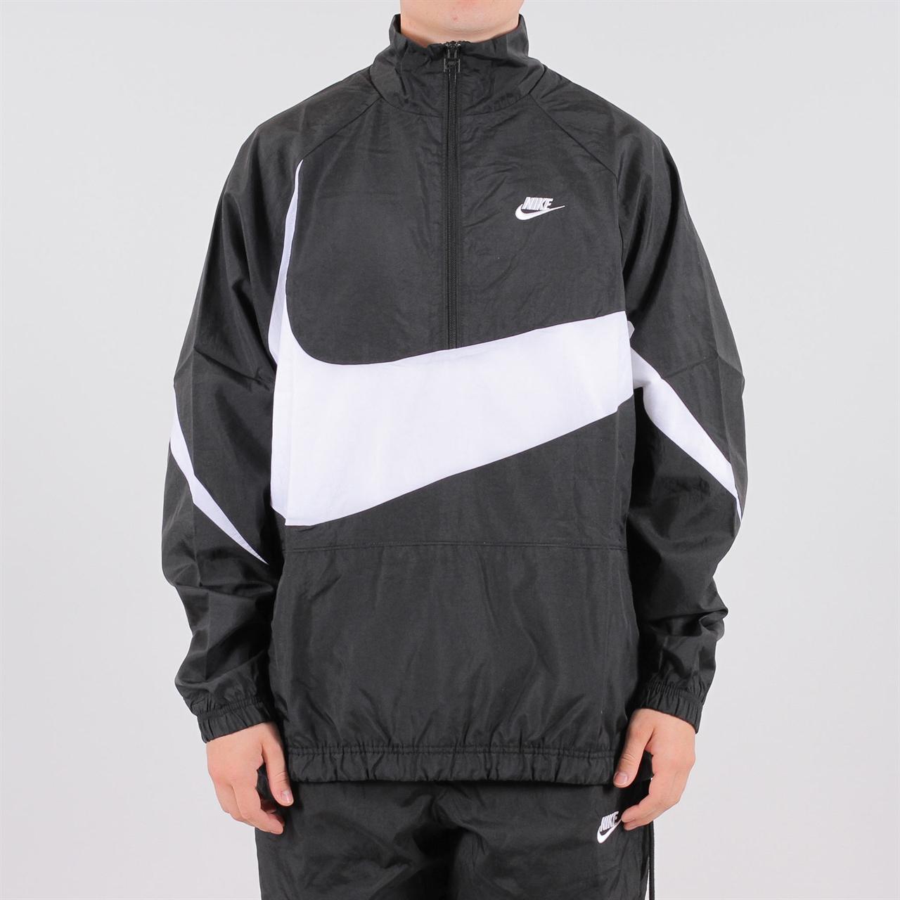 Shelta - Nike Sportswear Swoosh Woven Half Zip Jacket Vaporwave (AJ2 d981bacf6