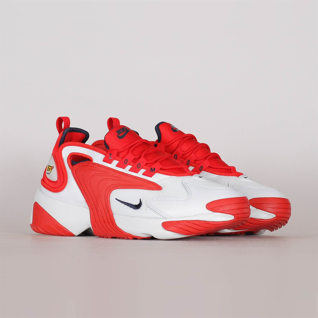 sneakers for cheap bda0f 07521 Zoom 2K (AO0269-102). 99 99EUR   a pair. Colorway  Off White Obsidian-University  Red
