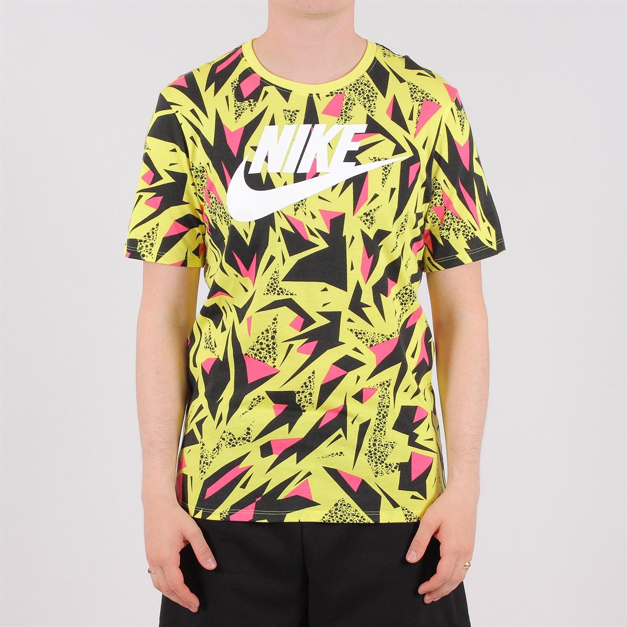 6f3a7af1 Nike Sportswear AOP 90s Tee (AQ4391-740) - Shelta