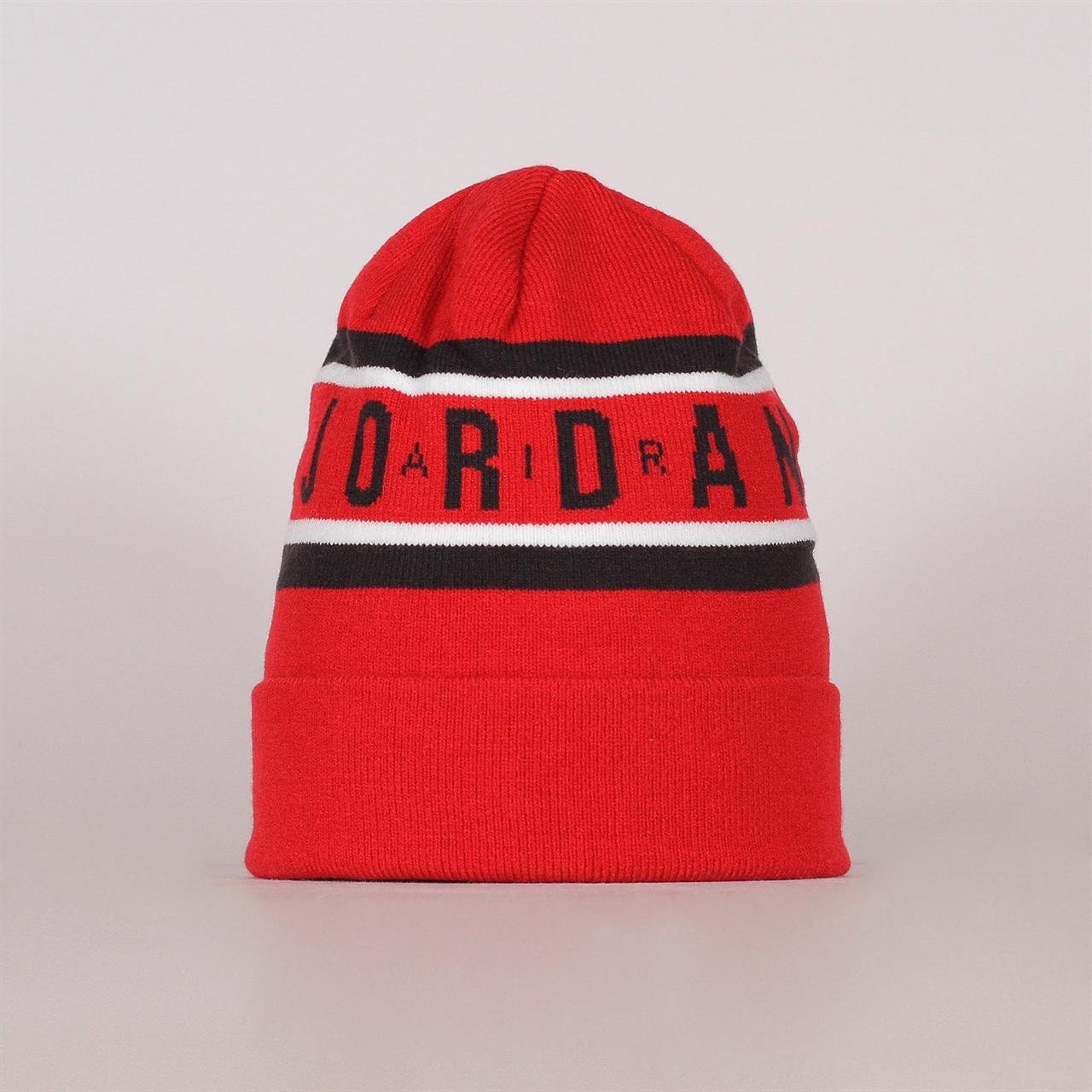 254fe965dc6d25 czech air cuffed beanie hat. jordan a4f37 c60dd; ireland air cuffed beanie  gym red ar3022 687 4812e 8b5f9