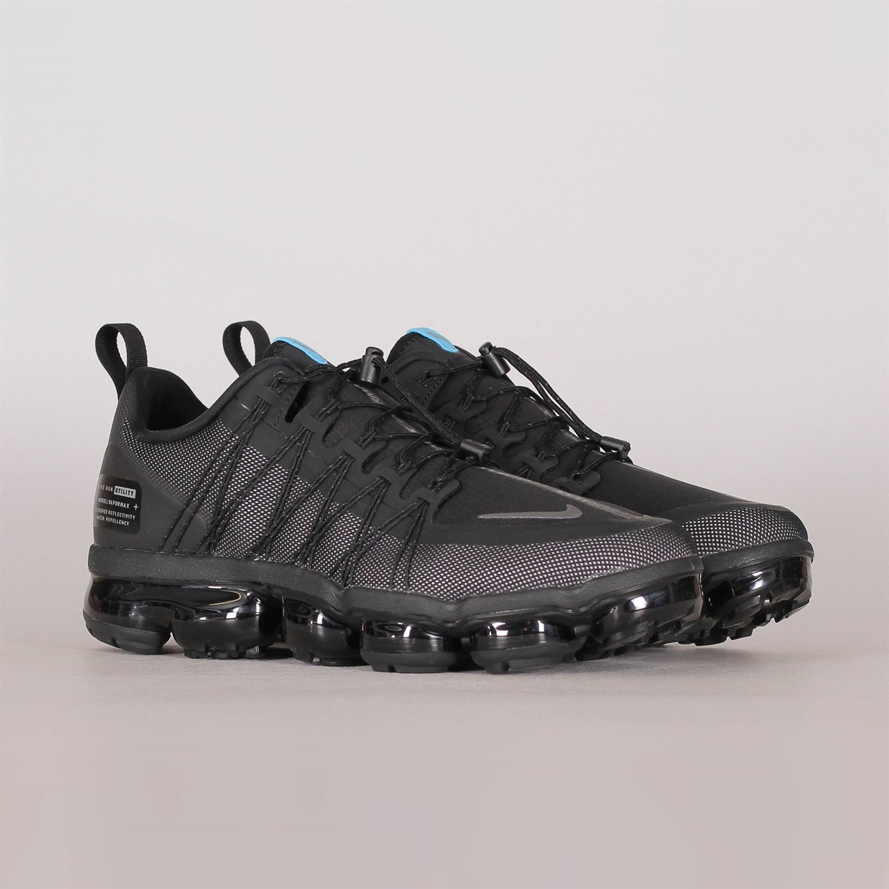 0c7ff29338b Air Vapormax Run Utility (BV1281-002). 225 225EUR   a pair. Colorway  Black Cool  Grey-Blue Fury