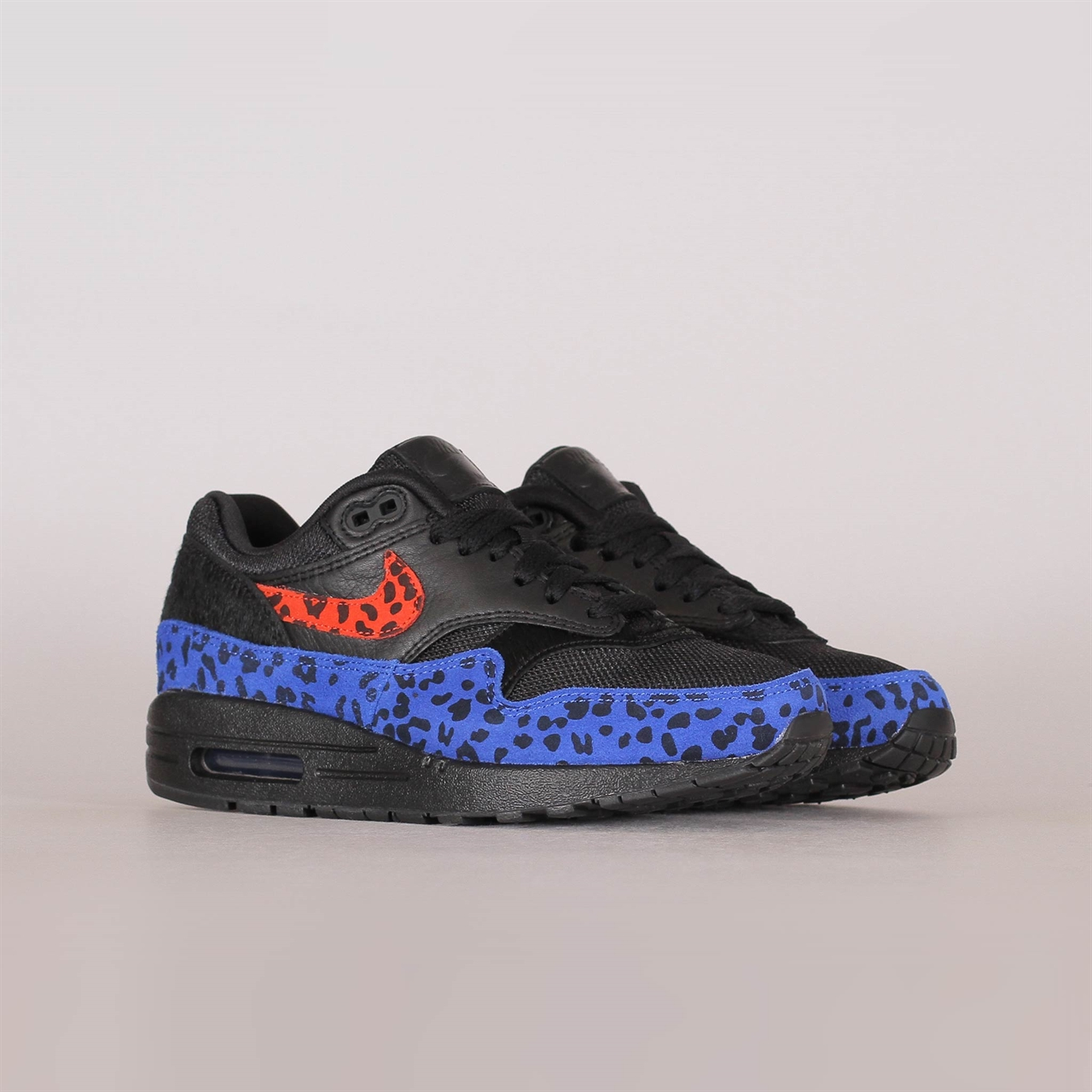 pretty nice bac2c 8b247 Womens Air Max 1 Premium Black Leopard (BV1977-001)