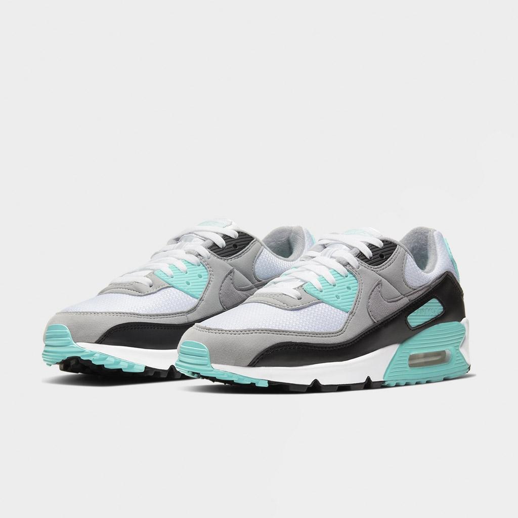 Shelta - Nike Womens Air Max 90 White Hyper Turquoise (CD0490-104)