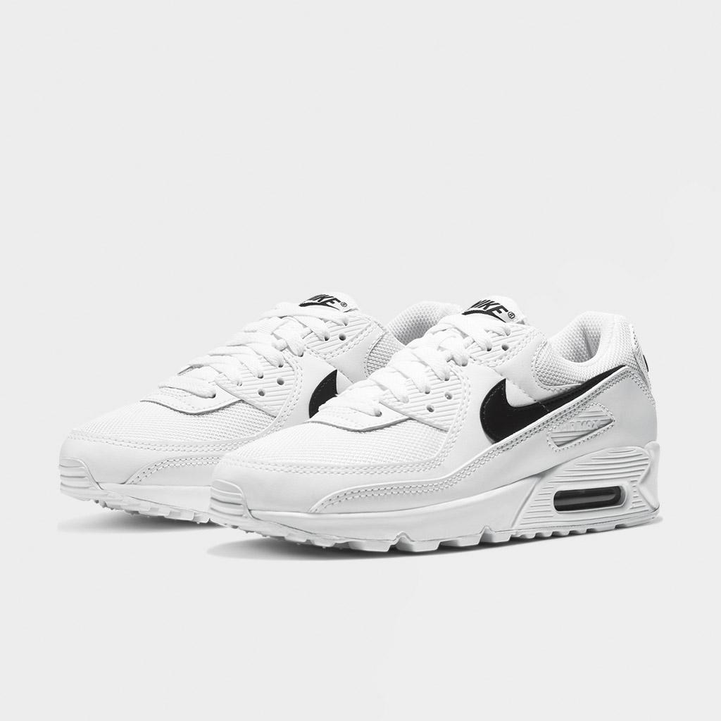 Shelta - Nike Womens Air Max 90 White/Black (CQ2560-101)