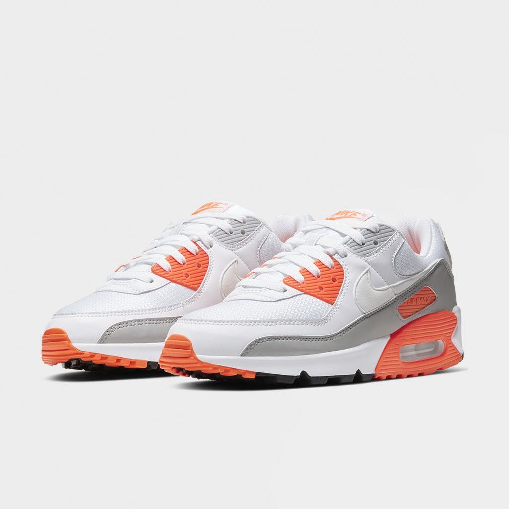 Shelta - Nike Air Max 90 White Hyper Orange (CT4352-103)