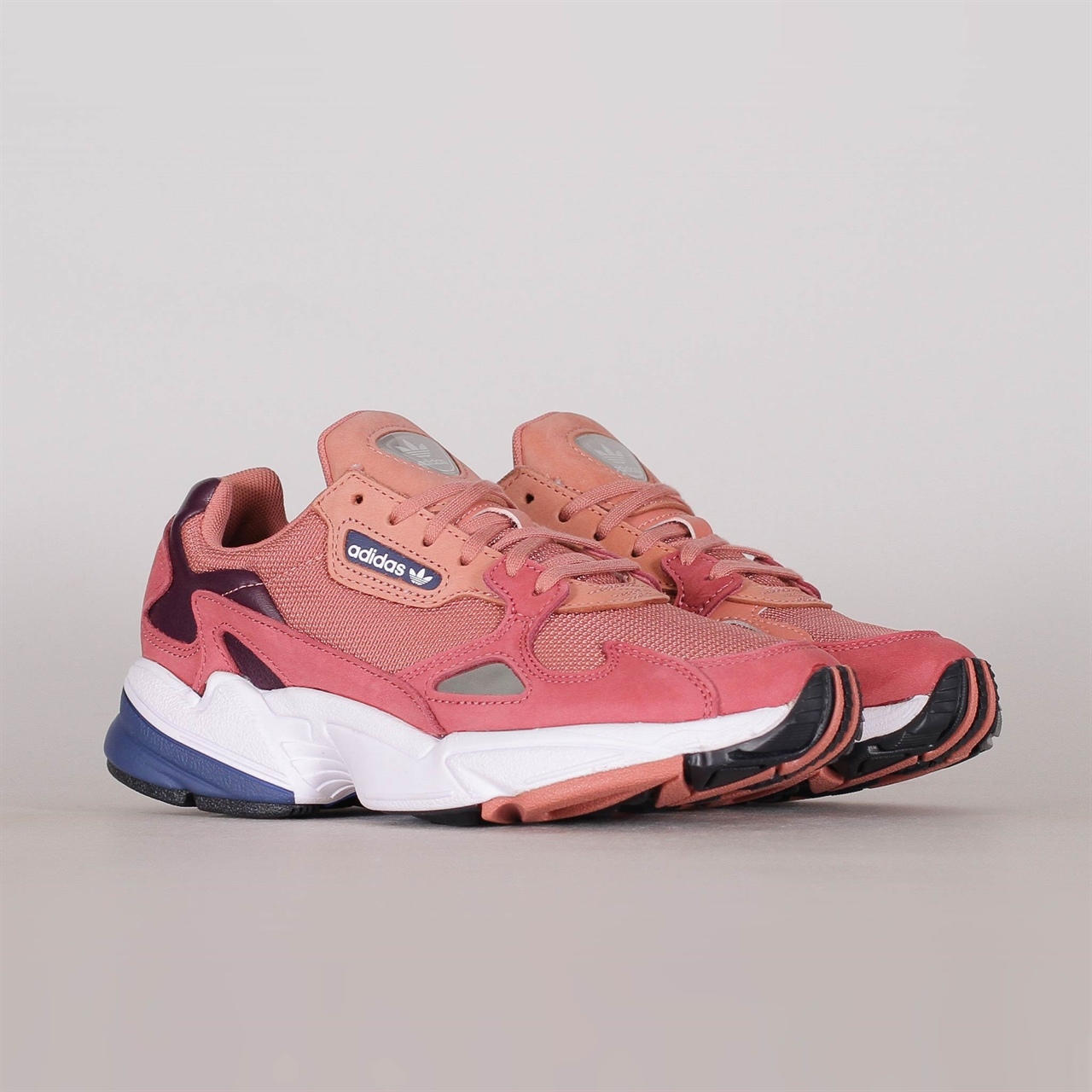 7a919591bc9 Womens Falcon (D96700). 99 99EUR   a pair. Colorway  Raw Pink Raw Pink Dark  Blue