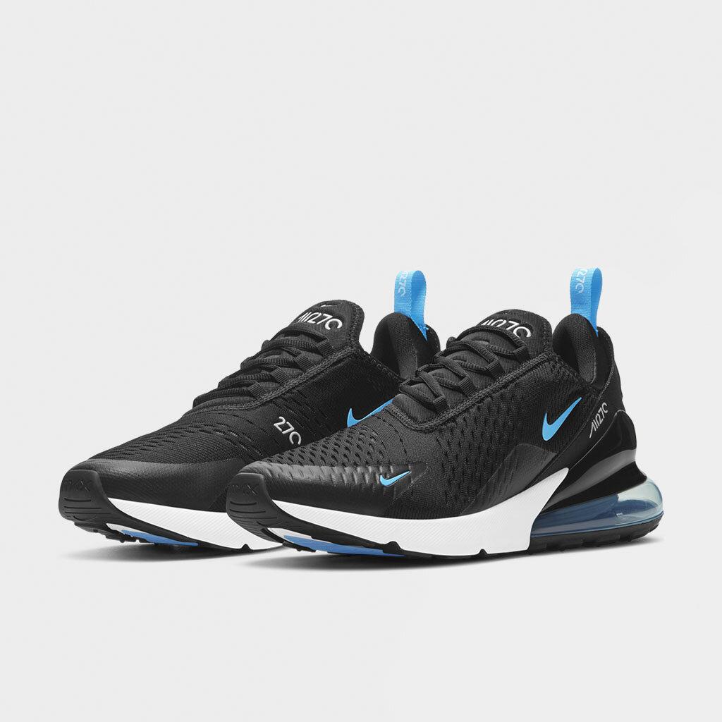 Shelta - Nike Air Max 270 Black Light Blue (DD7120-001)