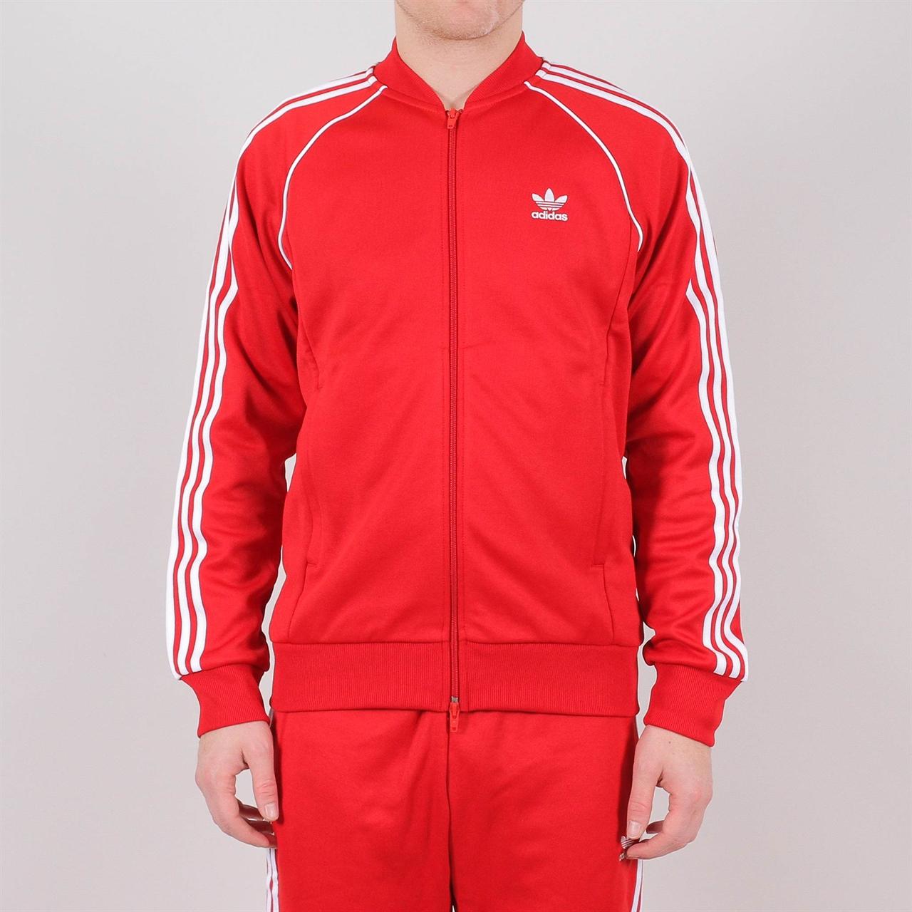 6ca7cdc7b8c8 Shelta - Adidas Originals Superstar Tracktop Red (DV1514)