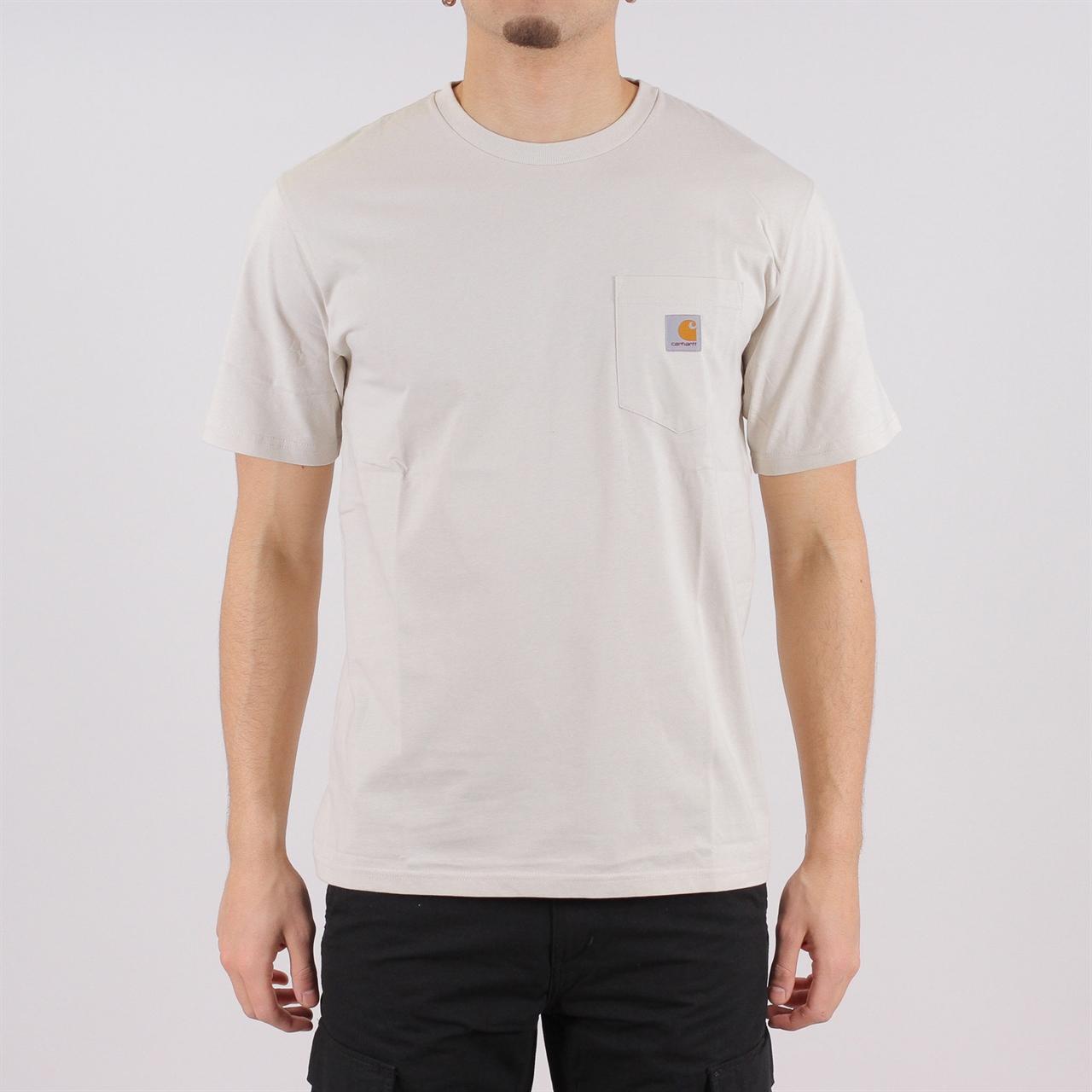30801093 Carhartt Chase S/S Pocket T-Shirt Sandy Desert (I022091.961.0 - Shelta