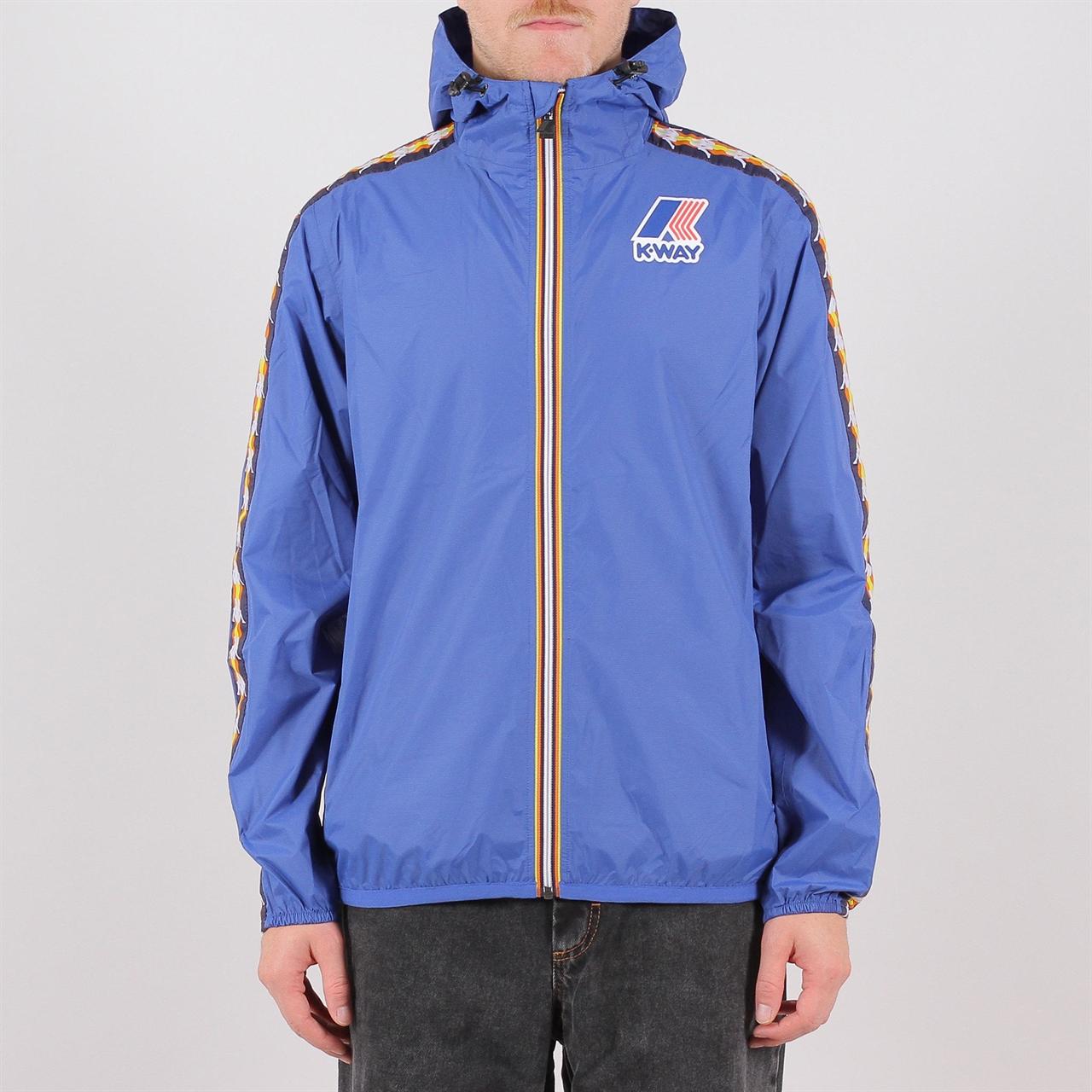 0f6fc5c308 Shelta - K-Way x Kappa Claude Banda Jacket Blue (K009D90-618)