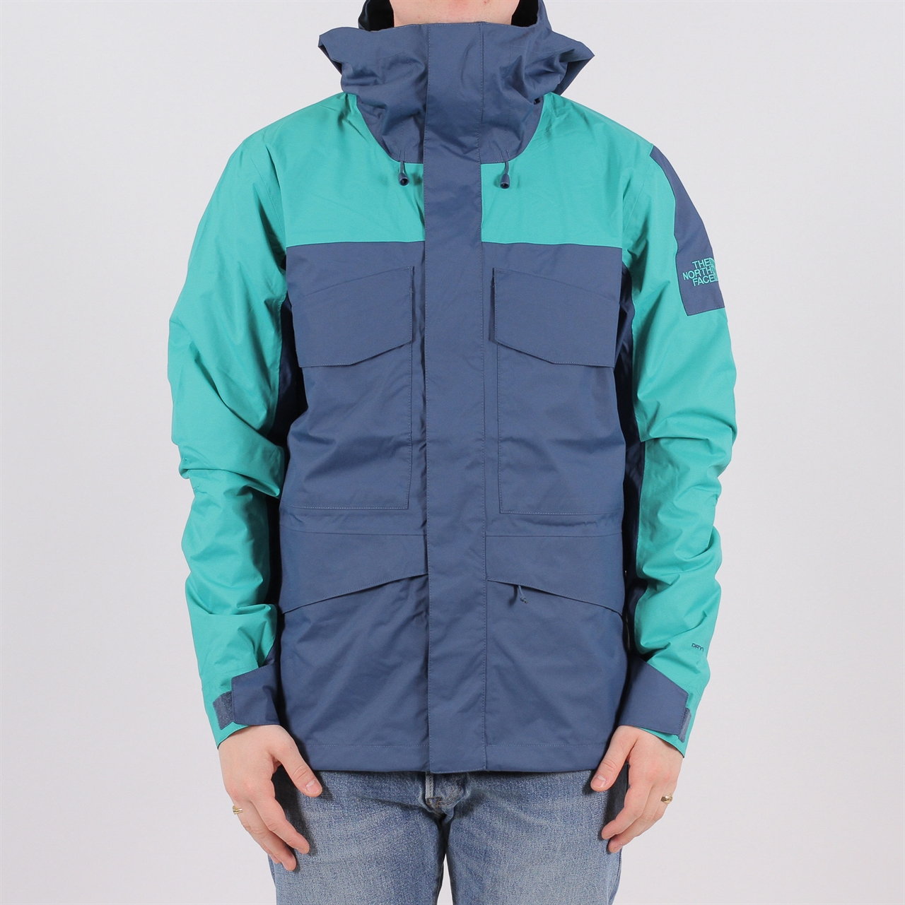 869062b772fd Shelta - The North Face Fantasy Ridge Jacket Blue Wing Teal Porcelain