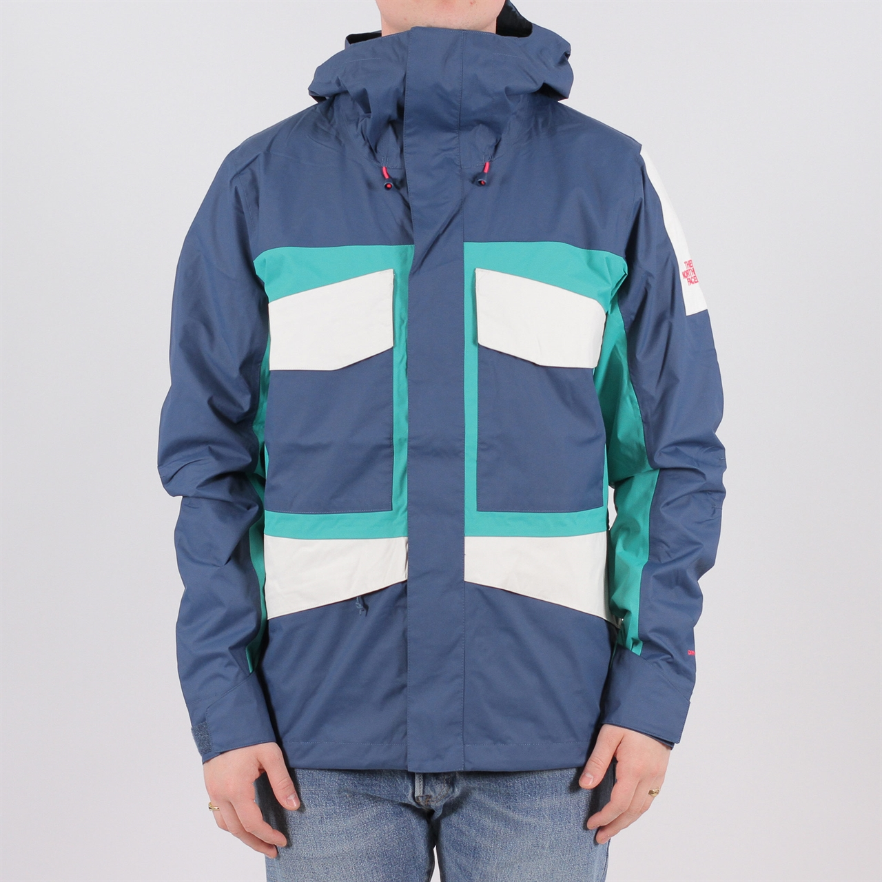 f2dc2a7ea12779 Shelta - The North Face Fantasy Ridge Jacket Blue Wing Teal Porcelain