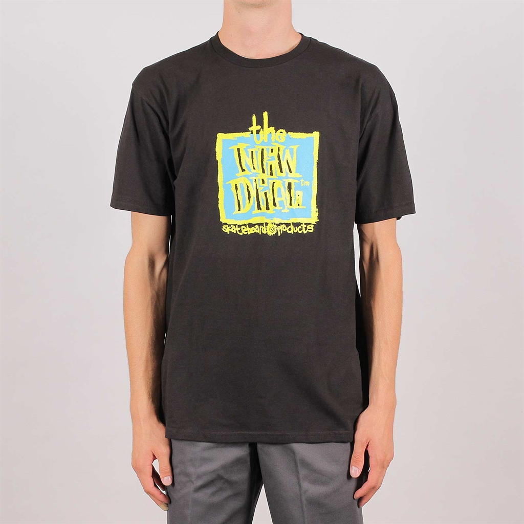 Gold New Deal Original Napkin Logo S//S T-Shirt