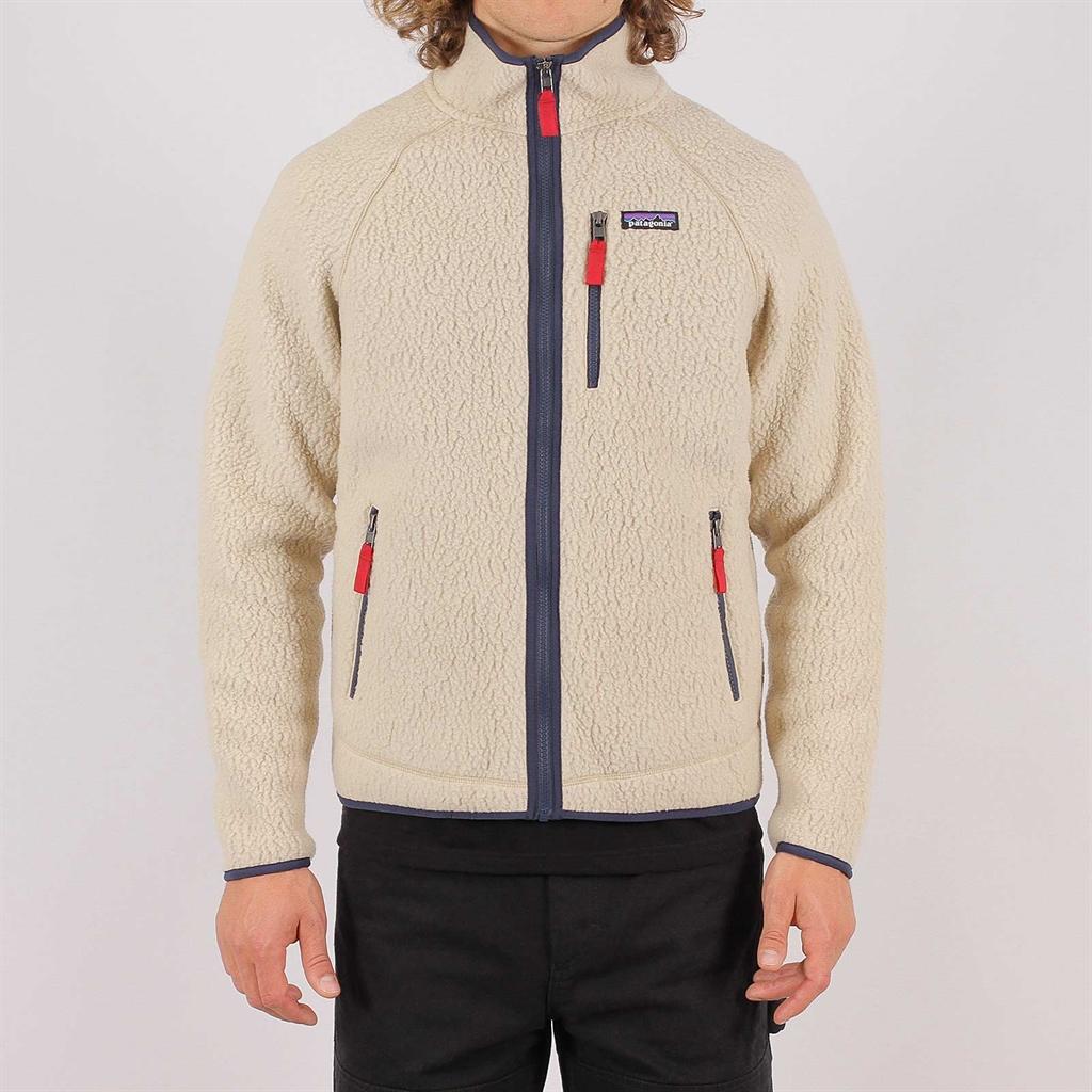 M´s Retro Pile Jacket El Cap Khaki | SweatersKnitwear Sale |