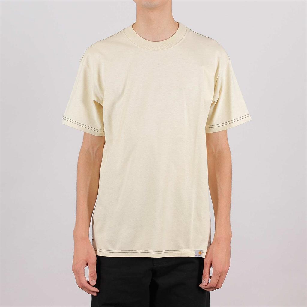 nice cheap footwear san francisco Shelta - Carhartt WIP Nebraska S/S T-Shirt Flour (26992-FLR)