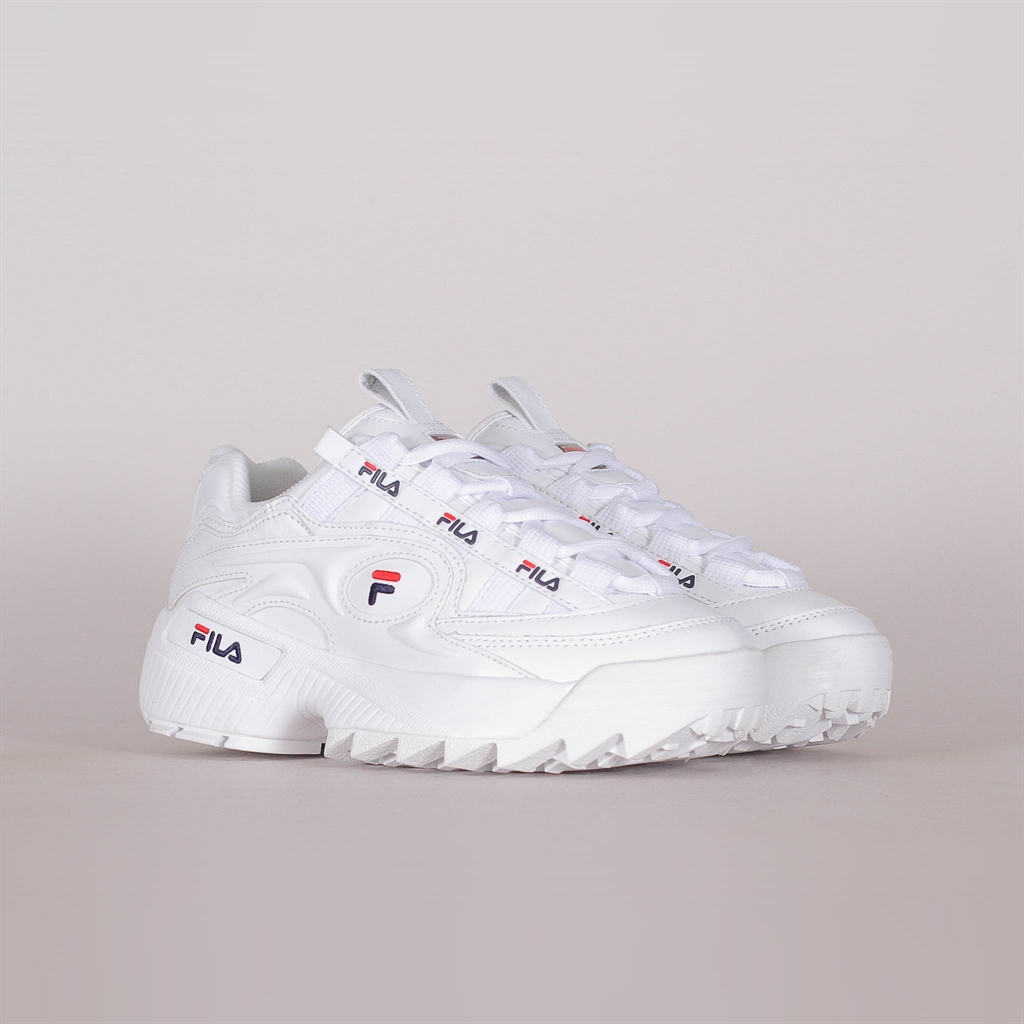 FILA D Formation Sneakers WhiteNavyFila Red