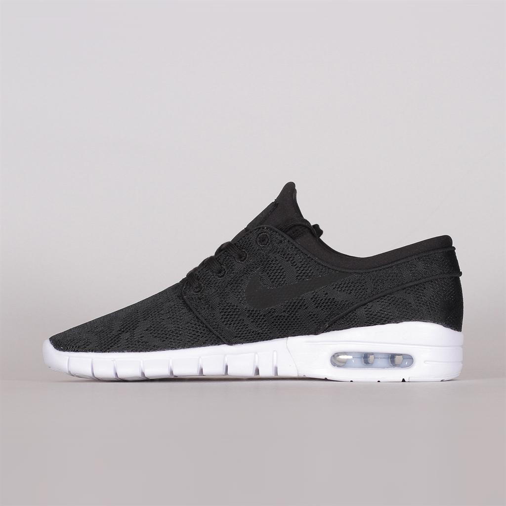 Nike SB Shoes Stefan Janoski Max L BlackBlackWhite