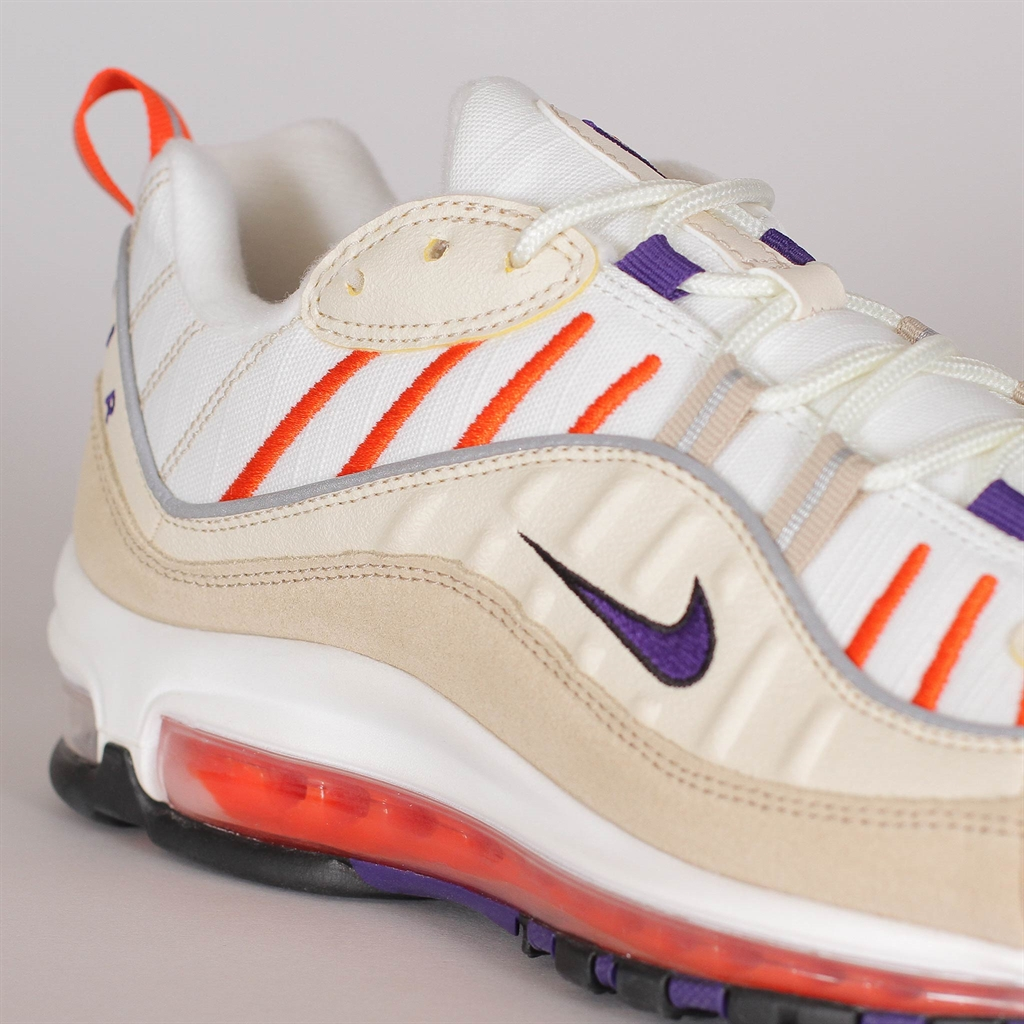 Nike Air Max 98 Sail Court Purple Light Cream 640744