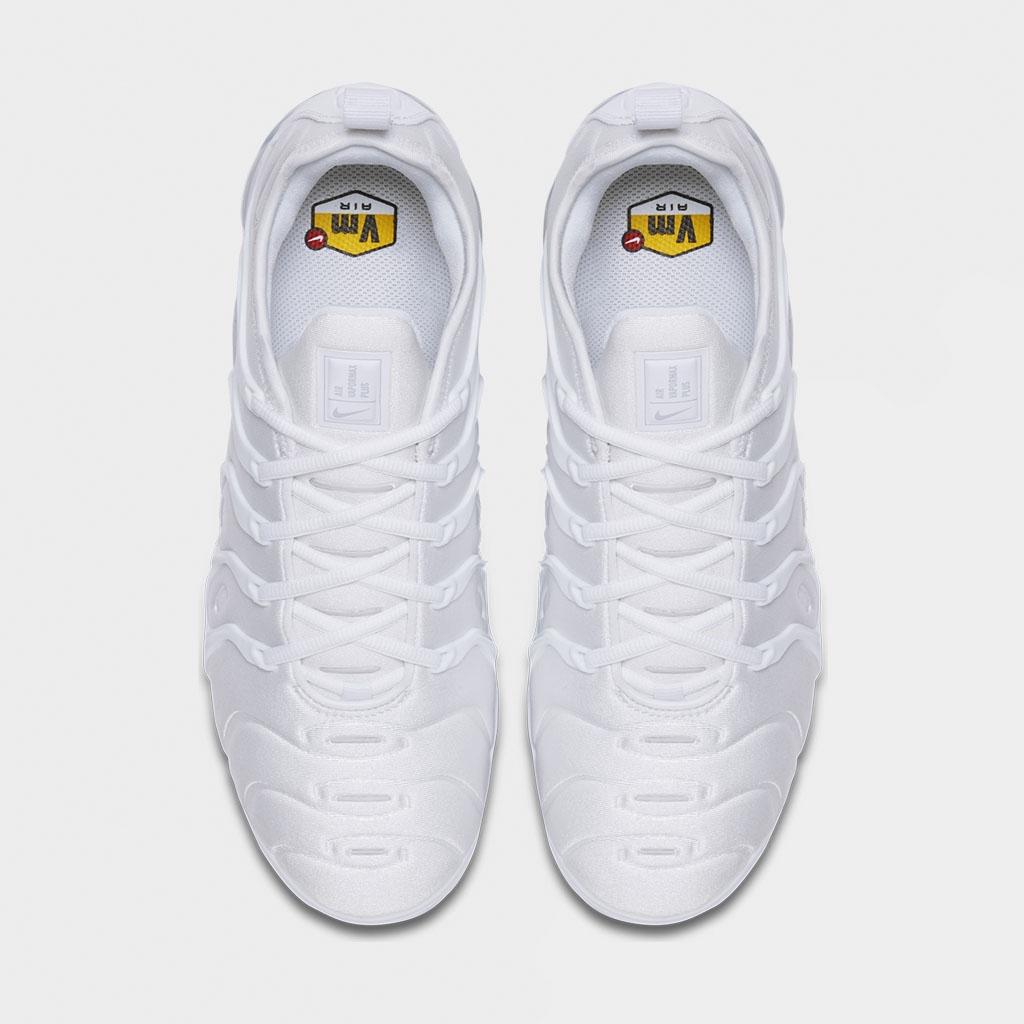 Köp Nike Air Vapormax Plus White Pure Platinum Skor Online