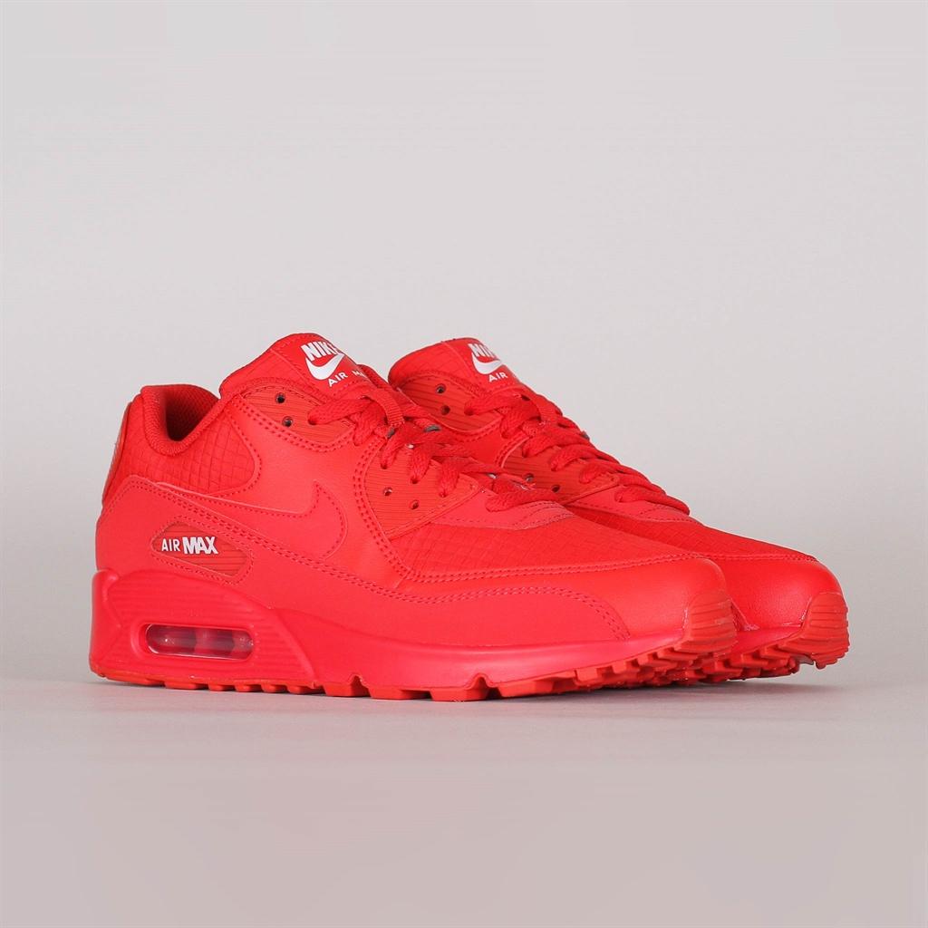 Nike Air Max 90 Essential | AJ1285 602 | Röd | Sneakers