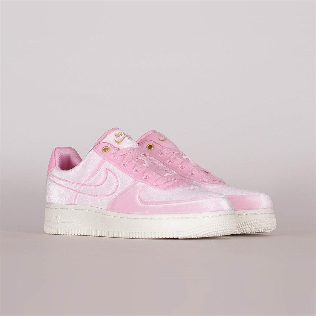 Nike Sneakers | Mens Air Force 1 ´07 Premium 3 Pink Rise Sall Metallic Gold