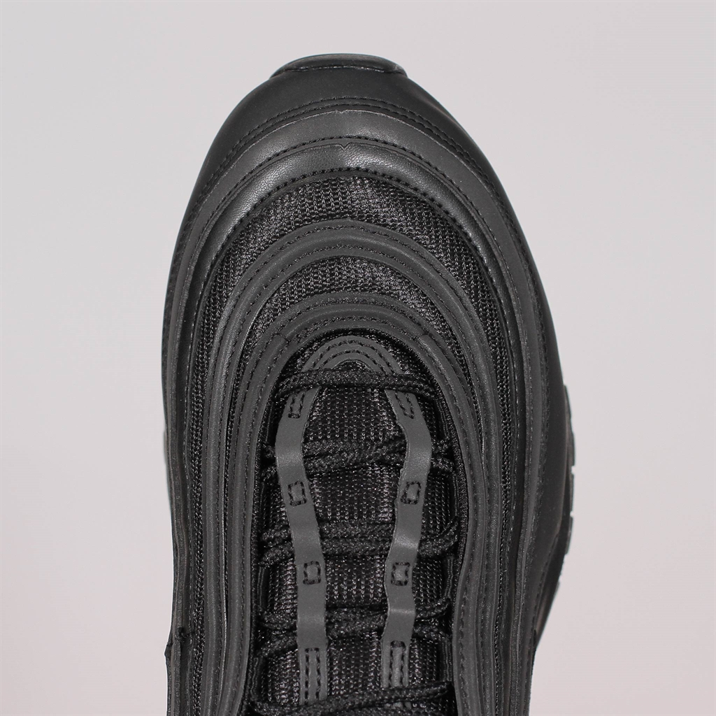 Nike Air Max 97 Mens Running Trainers BQ4567 Sneakers Shoes (UK 9 US 10 EU 44, Black White 001)