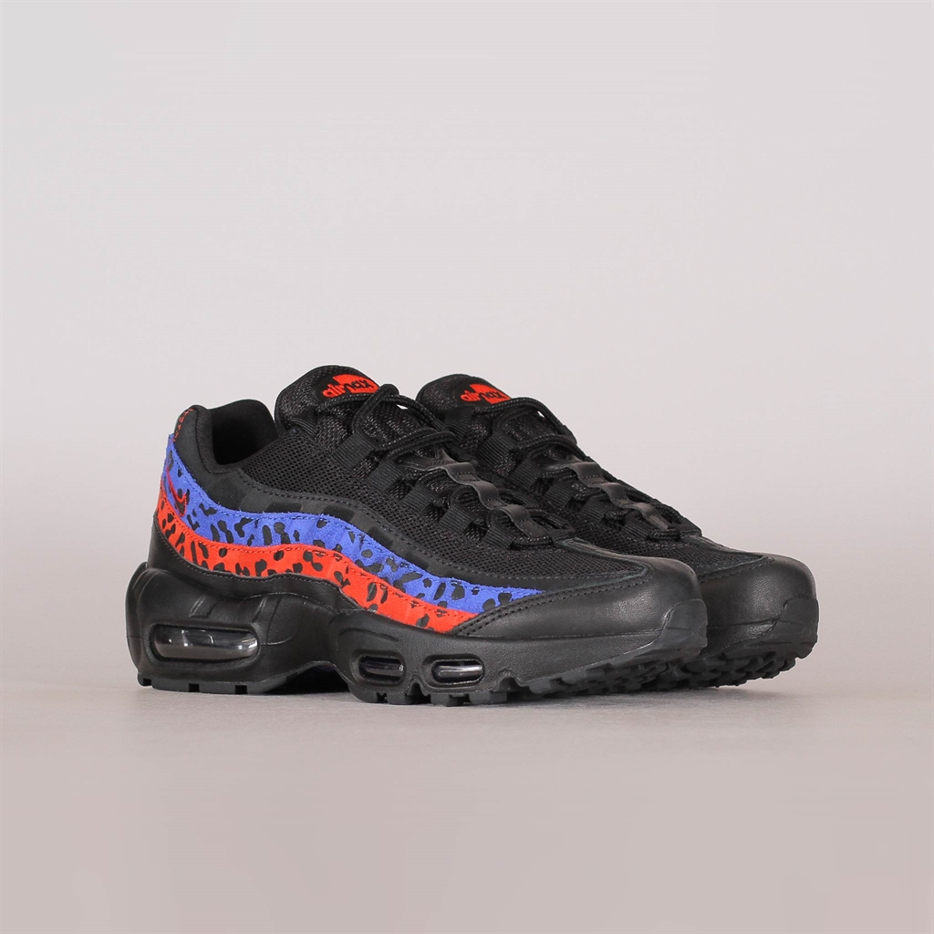 Shelta Nike Womens Air Max 95 Premium Black Leopard (CD0180 001)