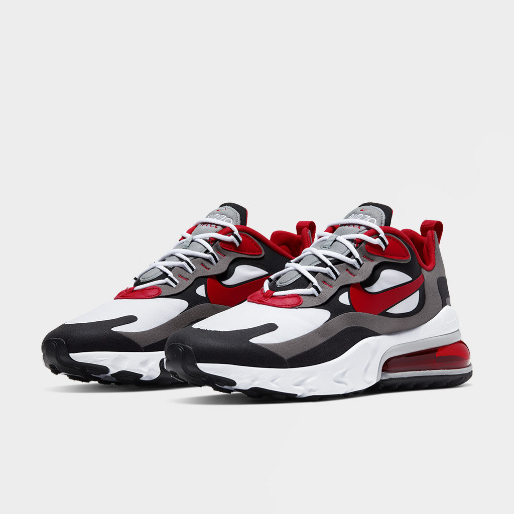 air max 270 react university red