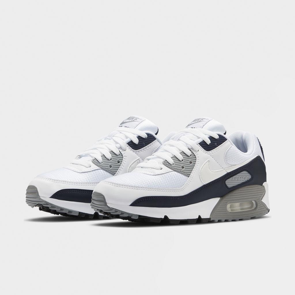 Shelta Nike Air Max 90 White Grey Ct4352 100