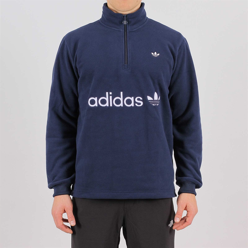 Adidas Originals Half Zip Fleece Navy (EC9310)