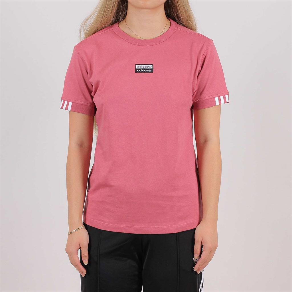 handla bästsäljare klassiska stilar annorlunda Adidas Originals T-Shirt Pink (EJ8571) - Shelta