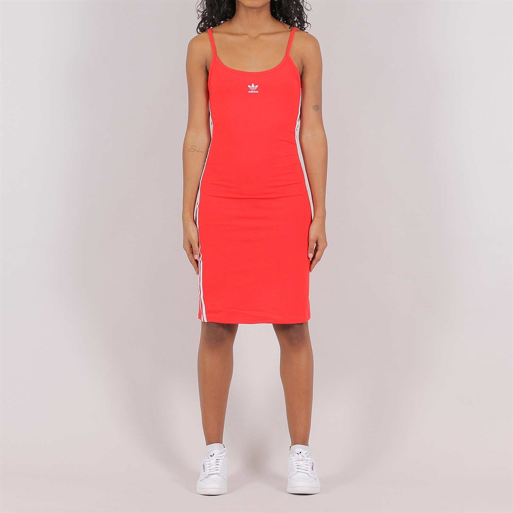 Adidas Originals Womens Tank Dress Red (FM3280)