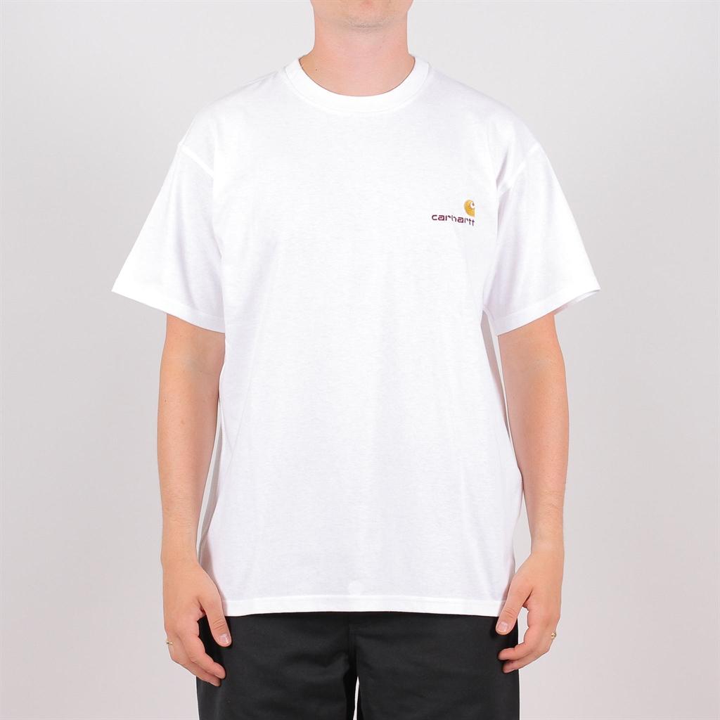 35af11c2 Carhartt American Script S/S T-Shirt (I025711-02-00-03)