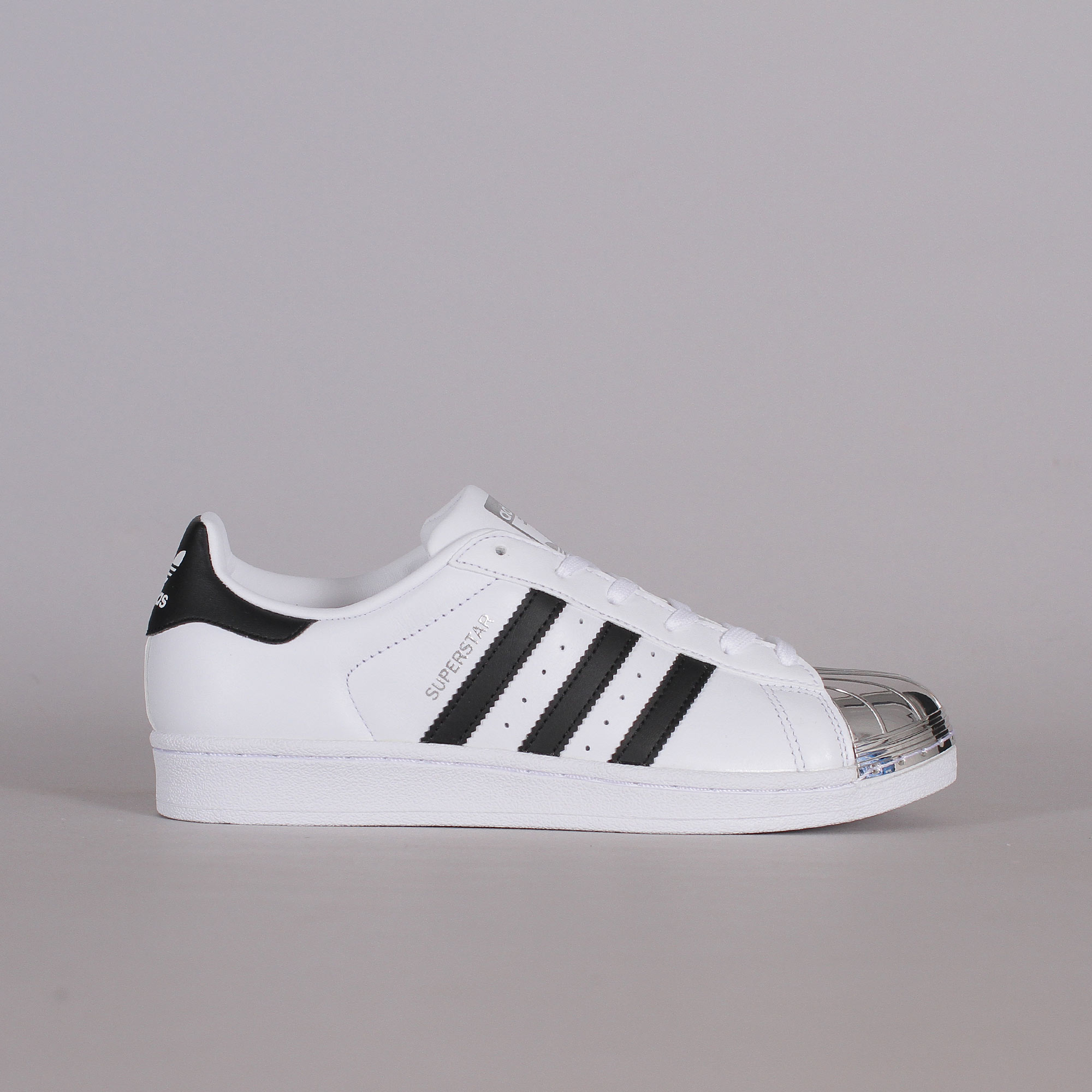 adidas Originals Superstar 80s Metal Toe | Svart | Sneakers