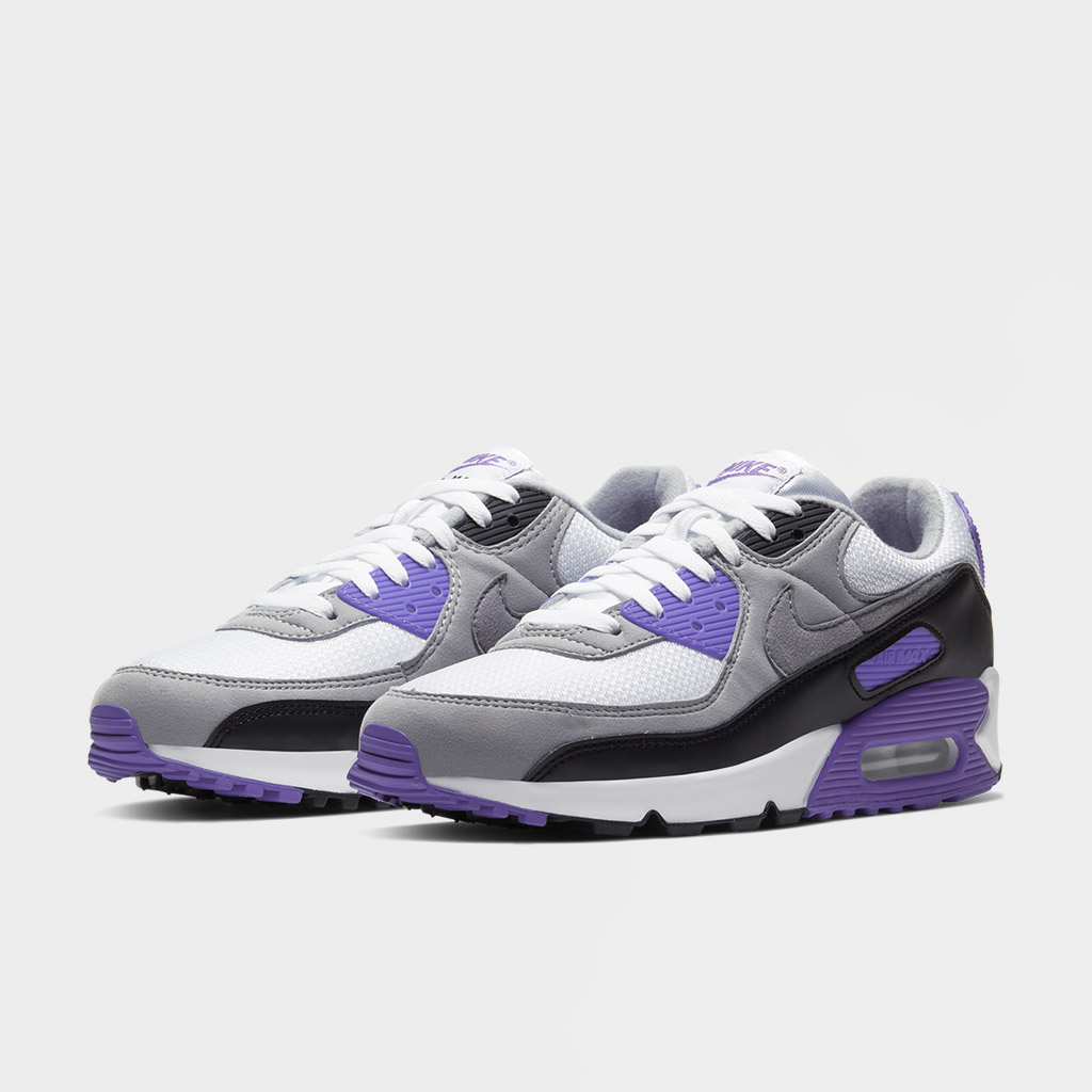 Nike Air Max 90 White Hyper Grape (CD0881 104)