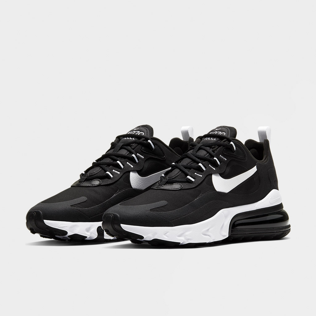 Nike Womens Air Max 270 React BlackWhite (CI3899 002)
