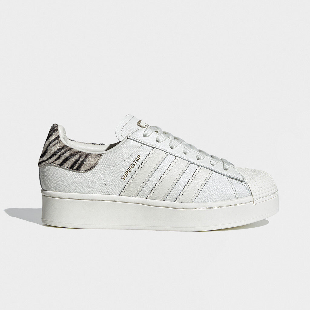 Adidas Originals Womens Superstar Bold Zebra (FV3458)