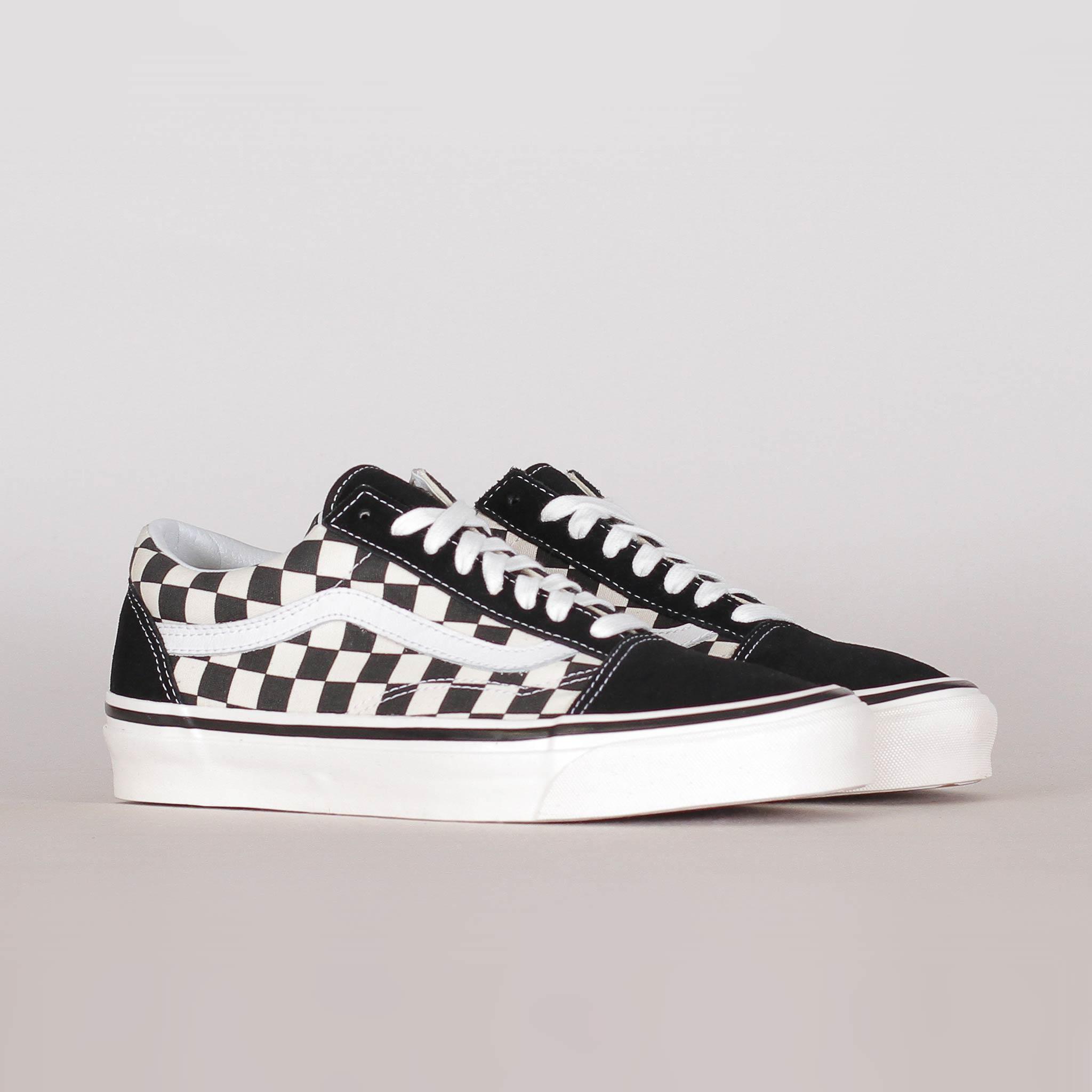 Vans Old Skool DX Black Checkerboard