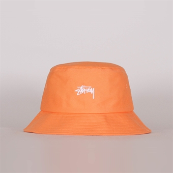 4b3fdec2a0adb Stussy Stock Bucket Hat Peach