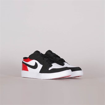 huge discount 326f2 032fa Nike Air Jordan 1 Low Pre-School Black Toe