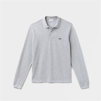 6c708d3274 Lacoste Classic Longsleeve Polo Shirt Grey